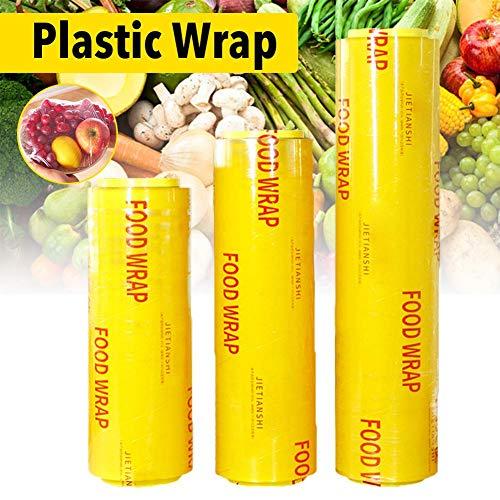 Transparante folie om te snijden, versfolie voor groenten en fruit van PVC, folie om op te rollen van kunststof 40cm * 600