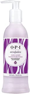 OPI Avojuice Hand & Body Lotion, Violet Orchid, 250ml