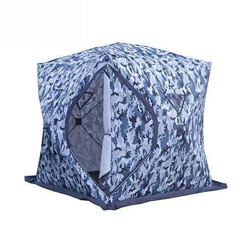QuRong Tent in de vrije natuur beweegbaar pakket, dik katoen, camouflage, warm en koud, afneembare tent, ideaal voor gezinnen, om te hebben tijdens het wandelen in de open lucht