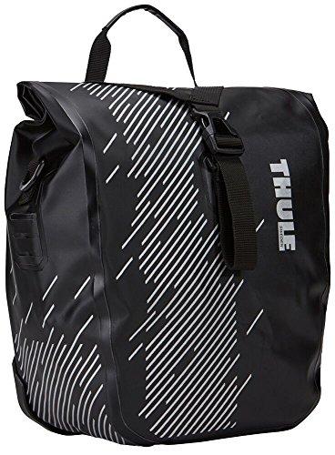 Thule 100075 Fahrradsatteltasche, Schildtasche, 25,4 x 14 x 31,1 cm (S), schwarz