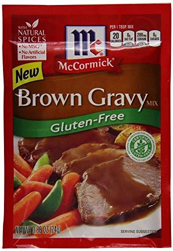 Mccormick Glutenfree Brown Gravy Mix 88 Oz Pack of 3