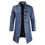 XLDD Herren Steampunk Vintage Tailcoat Jacke Gothic viktorianischen Mantel Party Uniform Kostüm...