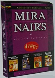 Mira Nair's 4 Films DVD's Pack [NTSC] - [Monsoon Wedding / Salaam Bombay / Kama Sutra / Mississippi Masala] Collector's Edition