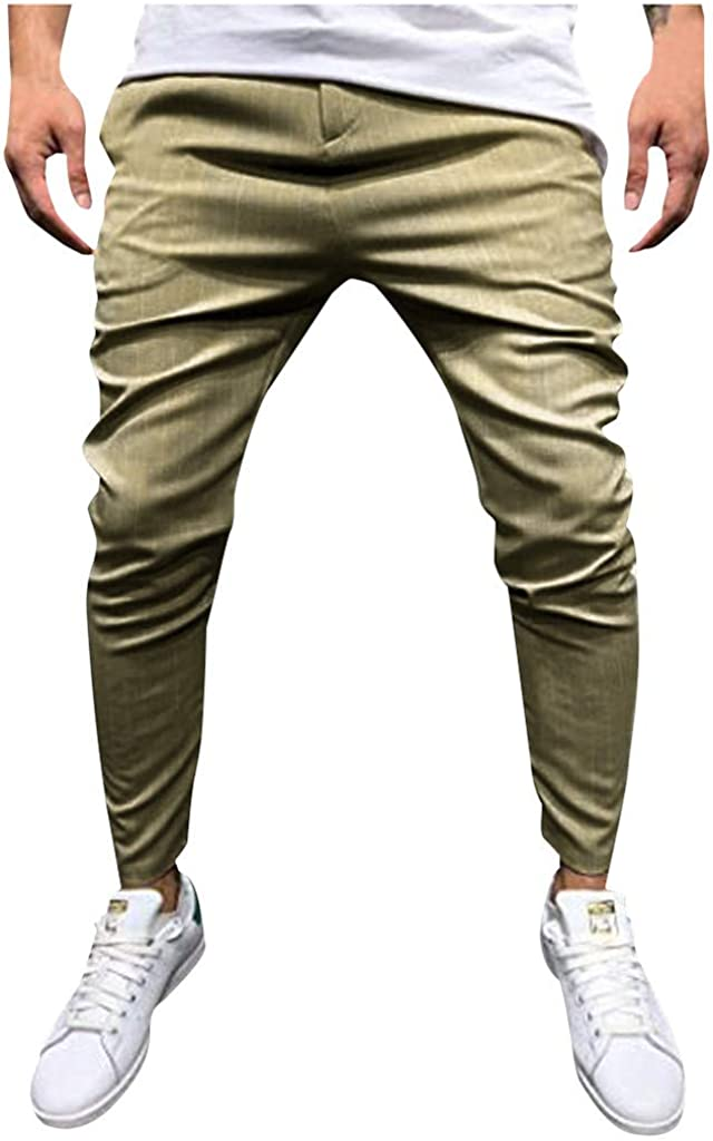 Swyss Casual Free shipping anywhere in the nation Striped Ankle Max 72% OFF Length Pants Streetwear Men Hipster H