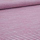 Schickliesel Jersey Stoff Meterware Basic Stripes