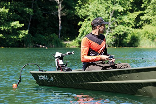 deeper Flexible Arm Mount 2.0 – New Improved Design for Better Use on a Boat, Kayak or Bait Boat,Black,79cm