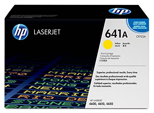 HP 641A | C9722A | Toner Cartridge | Yellow