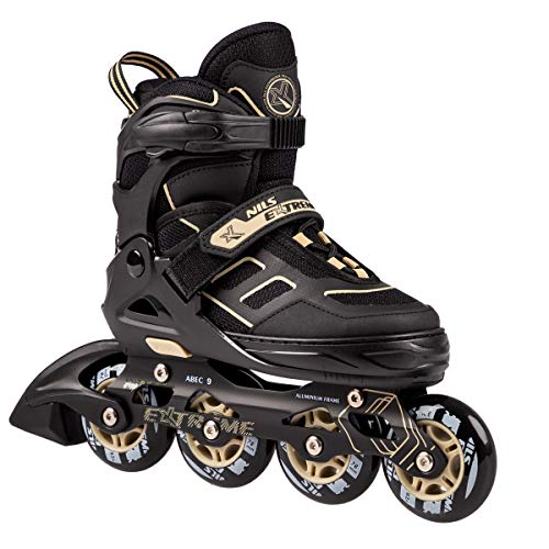 NILS Inlineskates Fitness-Skates Technology ABEC9 - Gr. 35-38, 39-42 verstellbar (35-38 verstellbar)