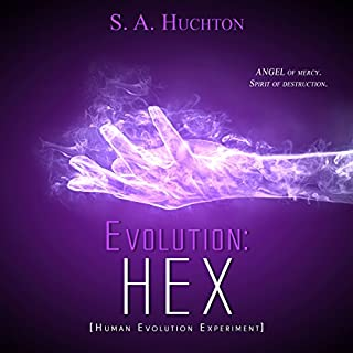Evolution: HEX audiobook cover art