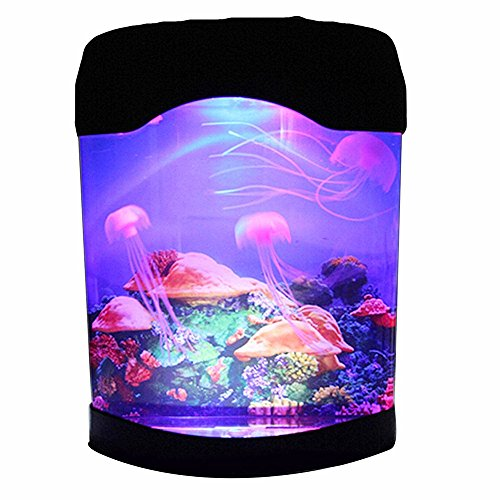 Aquarium Jellyfish NHSUNRAY Creative Simulation Decoration Brillante A