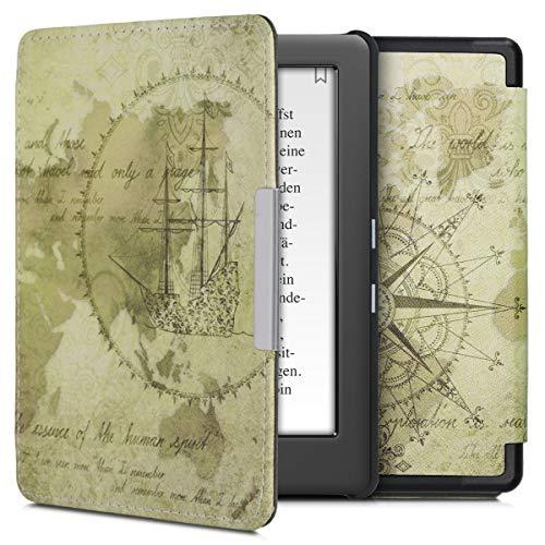 kwmobile Kobo GLO HD/Touch 2.0 Cover - Custodia a Libro in Pelle PU - Flip Case per eReader - Copertina Protettiva per Kobo GLO HD/Touch 2.0