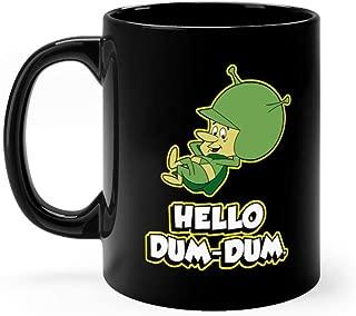 Hello Dum Dum - Gazoo - Retro Mug 11 oz Black Ceramic Unique Design Coffee Tea Mug Cute Gift For Men Women