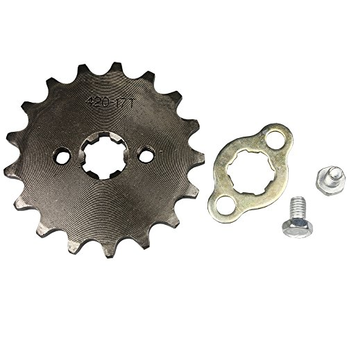 Wingsmoto Sprocket Front 420-17T 17mm Motorcycle ATV Dirtbike