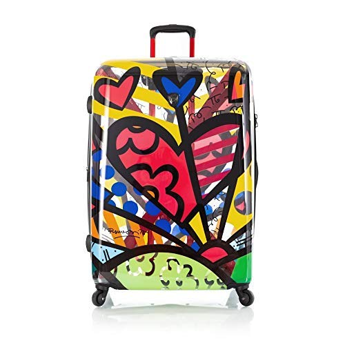 Heys Britto 30' Spinner Luggage Transparent (Transparent New Day)