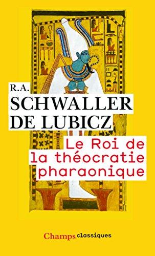 Le roi de la théocratie pharaonique