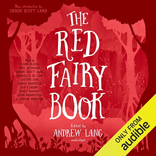 The Red Fairy Book cover art