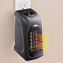NO BRAND Calefactor Calentador eléctrico enchufable de 400 W Mini Ventilador de Montaje en Pared Calentador de Escritorio hogar práctico Estufa radiador máquina - I
