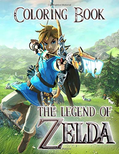 The Legend Of Zelda Coloring Book: Funny Coloring Books for Legend of Zelda Fans
