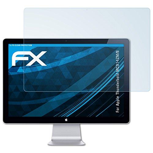 atFolix Schutzfolie kompatibel mit Apple Thunderbold MC914ZM/B Folie, ultraklare FX Displayschutzfolie