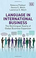 Language in International Business: The Multilingual Reality of Global Business Expansion