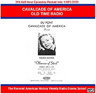 Cavalcade Of America MP3 DVD Historical Old Time Radio