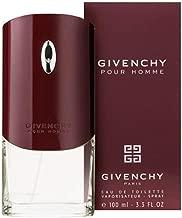 Givenchy Pour Homme by Givenchy For Men Eau De Toilette Spray, 3.3 Ounce