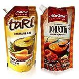 Alacena Crema de Ají Tari & Crema de Rocoto Uchucuta Combo pack 400 G/Each
