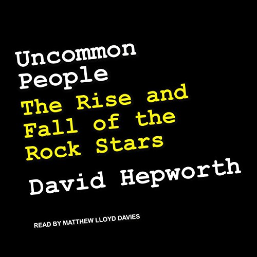 Uncommon People audiobook cover art