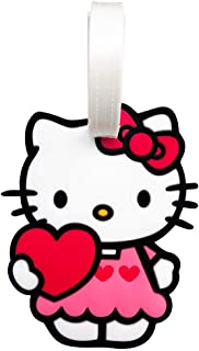 Jinchun Japanese Cartoon Hell_o Kitt_y Luggage Tags Accessories Silicone Cute Kawaii Tags for Travel Suitcase Tags for Adults