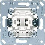 JUNG 534U Mecanismo Pulsador 10 AX / 250 V, Unipolar Na con Contacto de Indicación