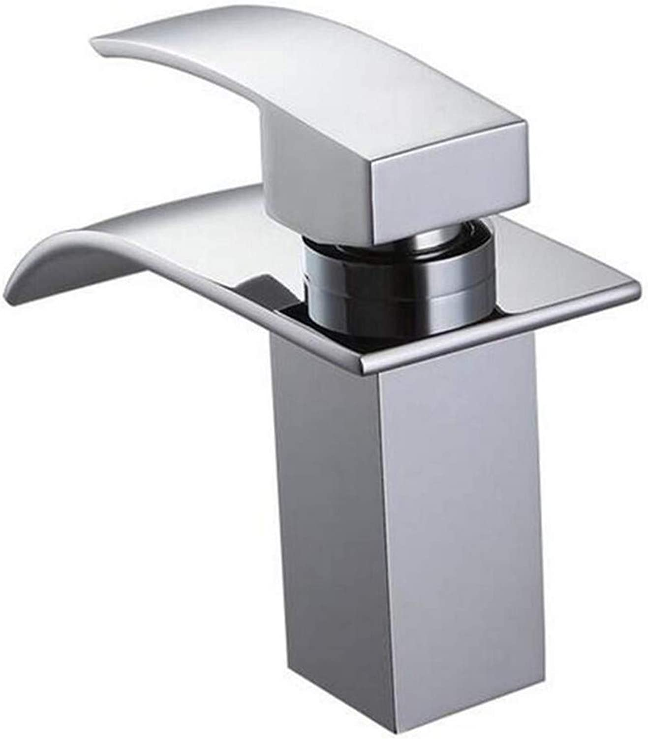 High Quality Kitchen Brass Stainless Steelwaterfall Bathroom Faucet Vanity Vessel Sinks Mixer Tap Cold and Hot Water Tap