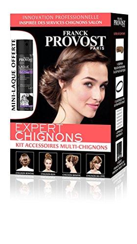 FRANCK PROVOST - Expert Chignons Kit Accessoires Multi-chignons Pour Coiffure Salon Avec Mini-Laque