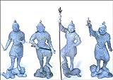 ラナ 仏(BUDDHA) ブッダ2セット品 四天王 「多聞天 広目天 増長天 持国天」 仏像フィギュア