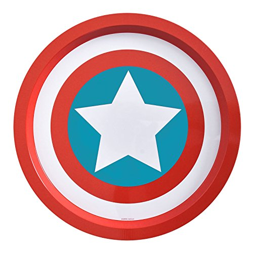 Star Cutouts Z879325 Plateau Marvel Captain America Bleu - version allemande