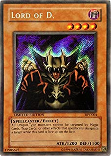 Yu-Gi-Oh! - Lord of D. (BPT-004) - 20022003 Collectors Tins - Limited Edition - Secret Rare