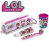 Dentifricio per bambini Spazzolino da denti Spazzolino da viaggio Set LOL Surprise