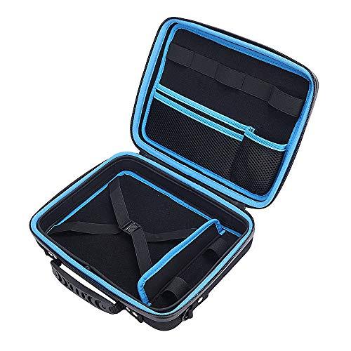 Cobeky Funda de transporte portátil de viaje para escritorio y accesorios portátil bolsa de almacenamiento a prueba de golpes bolso bolso de hombro cubierta