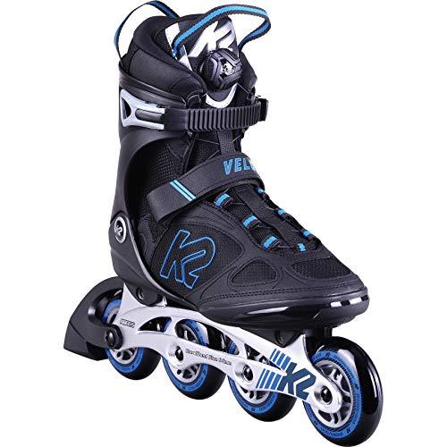 K2 Skates Herren Inline Skate Velocity 84 Boa M — black - blue — EU: 42 (UK: 8 / US: 9) — 30D0391