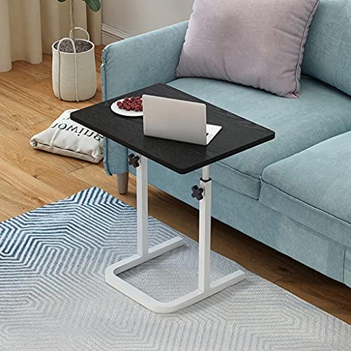 WERTYG Soporte para ordenador portátil ajustable de 60 x 40 cm, mesa auxiliar portátil para cama, sofá, lectura, mesa plegable (color B: B)