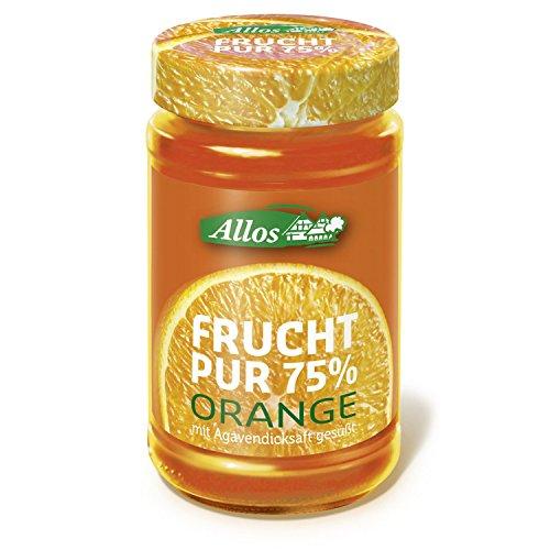 Allos Orangen-Fruchtaufstrich