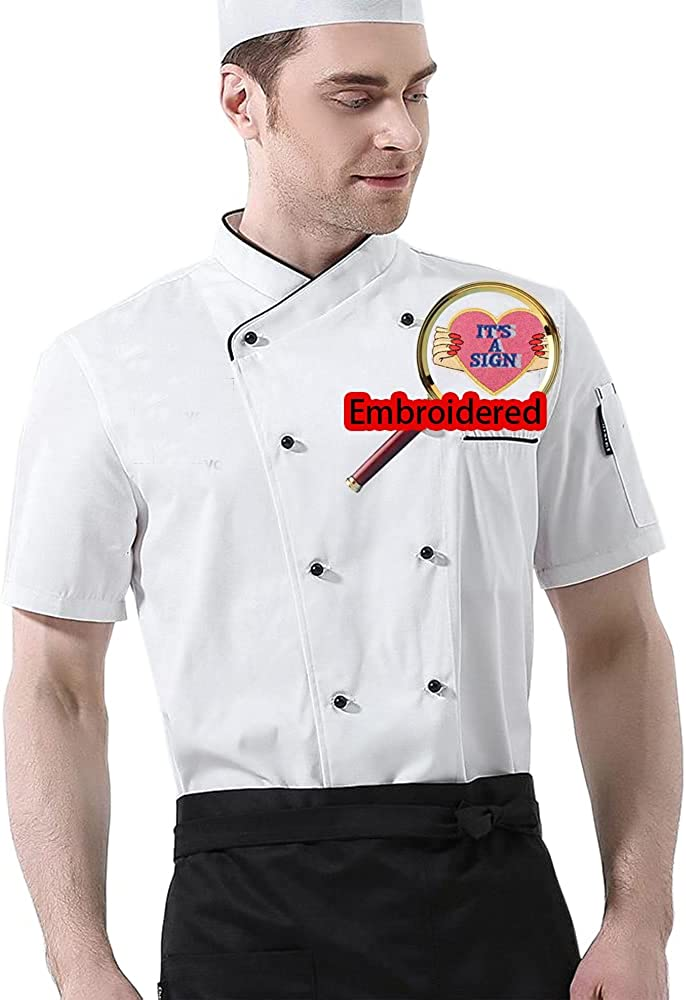 Custom Embroidered Chef Jacket 100% quality warranty! Factory outlet Uniform Personalized Hotel K