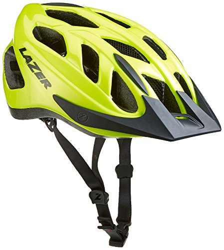 Lazer Cyclone Fahrradhelm, Flash Yellow, M