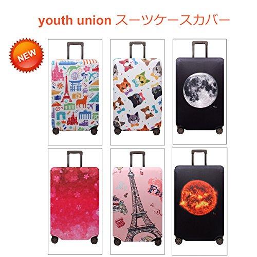 YouthUnion『スーツケースカバー伸縮素材欧米風』