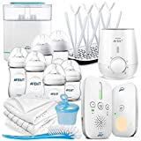 Philips Avent Premium Basic - Juego completo de 15 piezas - Vigilabebés +...