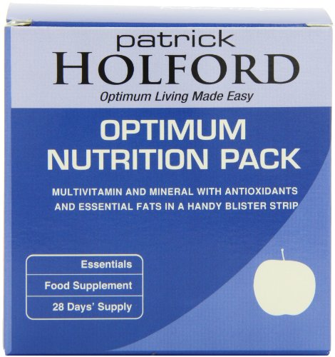 Patrick Holford Optimum Nutrition Pack - daily strip of every nutrient, vitamins, minerals & essential fatty acids