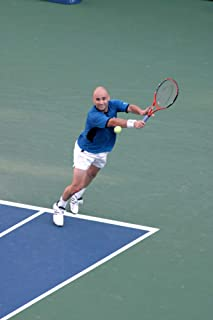 Posterazzi Poster Print Andre Agassi in Attendance for U.S. Open Tennis Championship Finals Arthur Ashe Stadium Flushing Ny September 11 2005. Photo by Rob RichEverett Collection Celebrity (16 x 20)