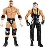 WWE Batalla Wrestlemania figuras de acción Sting y Triple H (Mattel FMH63)