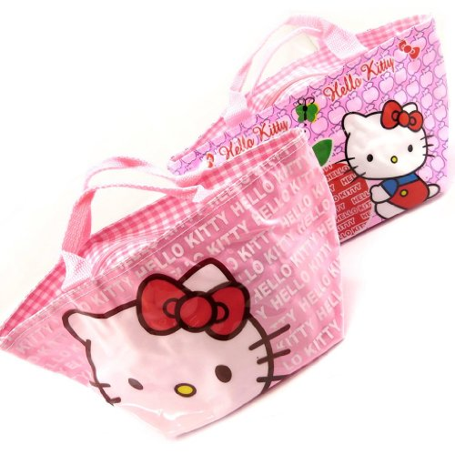 Hello Kitty [K8309-2 sacs shopping rose