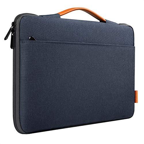 Inateck Borsa Porta PC 13 Pollici Custodia Compatibile con Chromebook Ultrabook Notebook 13 Pollici, Macbook Air 13 2010-2020, Macbook Pro 13 2016-2020, Surface Pro X/7/6/5/4/3 - Blu