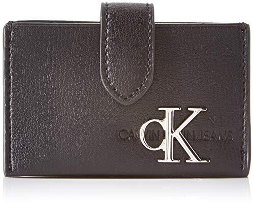 Calvin Klein Damen Ckj Monogram Hw Accordion Cc Umhängetasche, Schwarz (Black), 1x1x1 cm